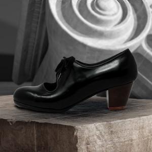 Carmen 39,5 AA+PR Leather Negro Cubano 5 Visto