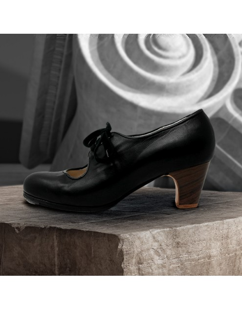 Carmen 39 AA+PR Leather Negro Clásico 5 Visto