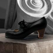 Carmen 39,5 A Leather Negro Clásico 5 Visto