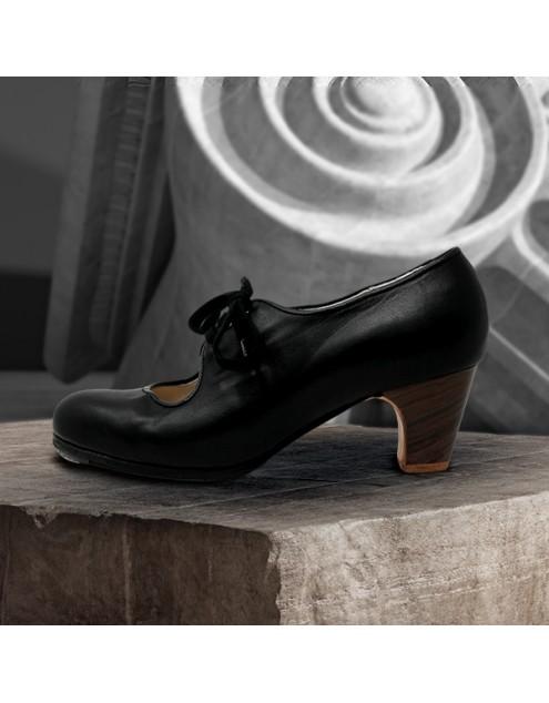 Carmen 34.5 A Leather Negro Clásico 5 Visto