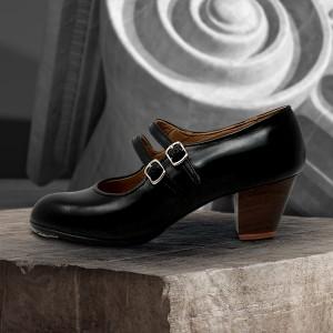 Manuela 38 E Leather Negro Cubano 5 Visto