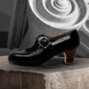 Lola 40 AA+PR Leather Negro Clásico 5 Visto