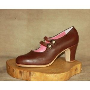 Manuela 40 A Leather Marron Clásico 6 Forrado