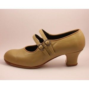 Manuela 40.5 A Leather Beige Carrete 5 Forrado